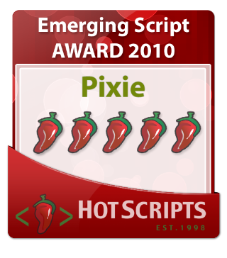 Pixie with 5 chillies from HotScripts