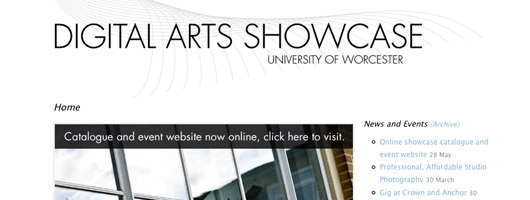 Digital Arts Showcase